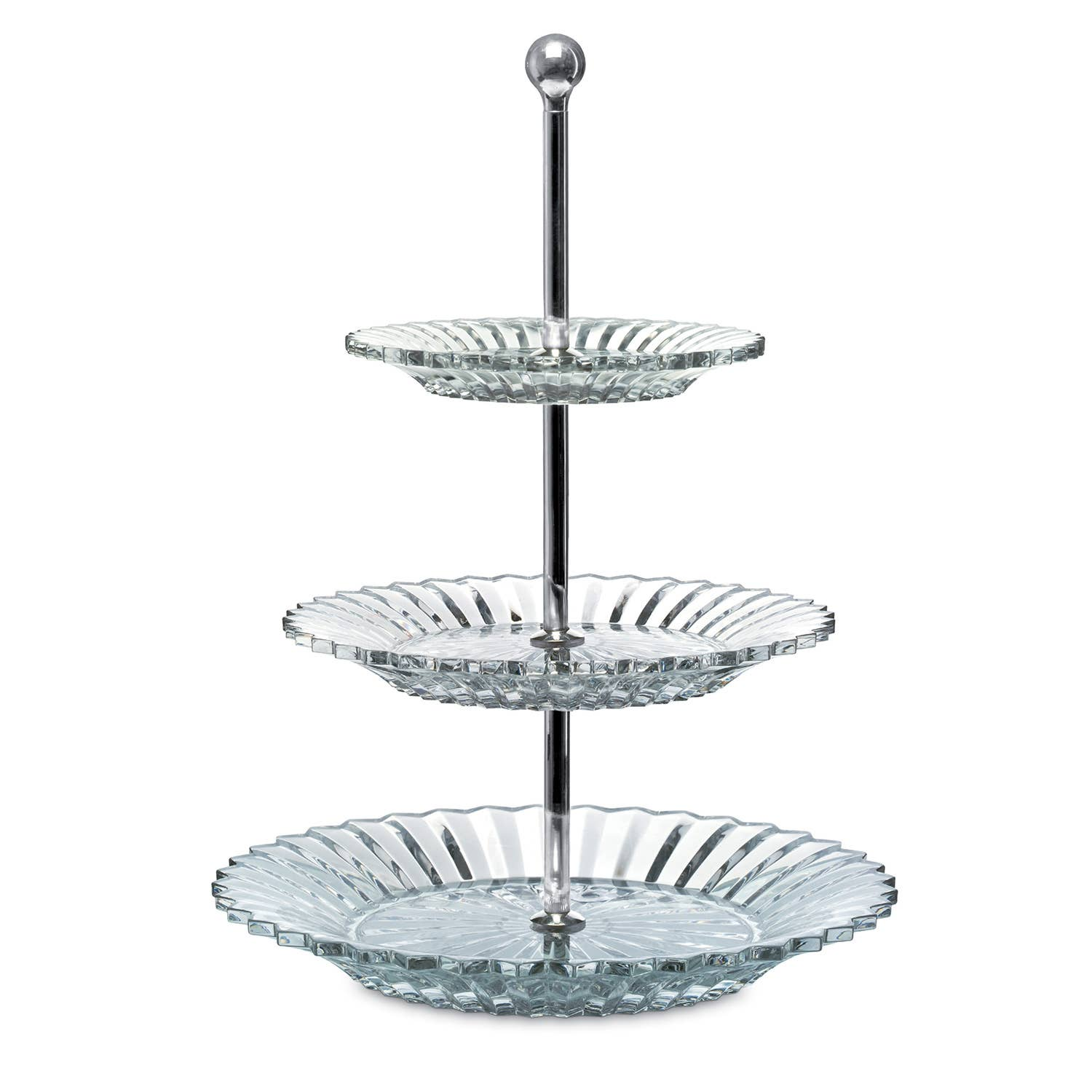 Baccarat Mille Nuits Three Tier Server