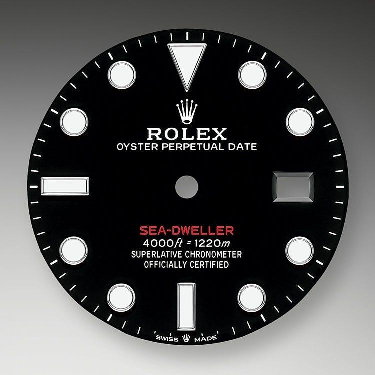 Rolex Sea-Dweller Black dial