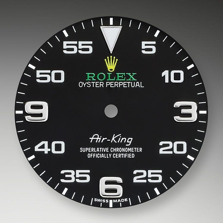Rolex Air-King Black dial