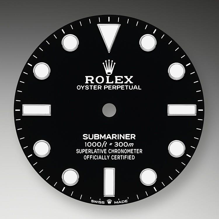Rolex Submariner Black dial