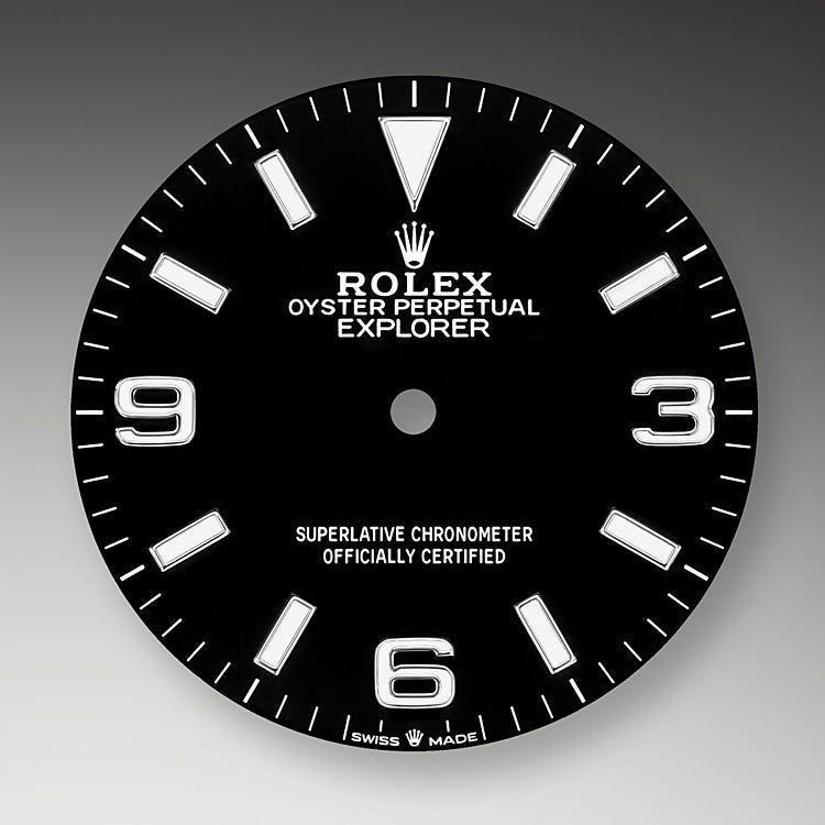 Rolex Explorer Black dial