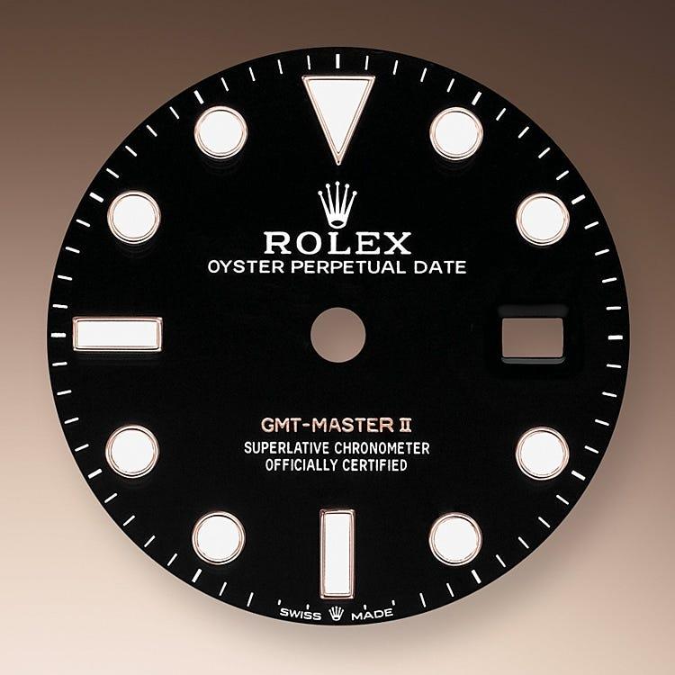 Rolex GMT-Master II Black dial
