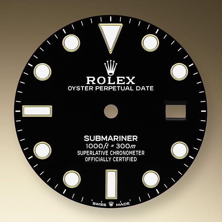 Rolex Submariner Date Black dial
