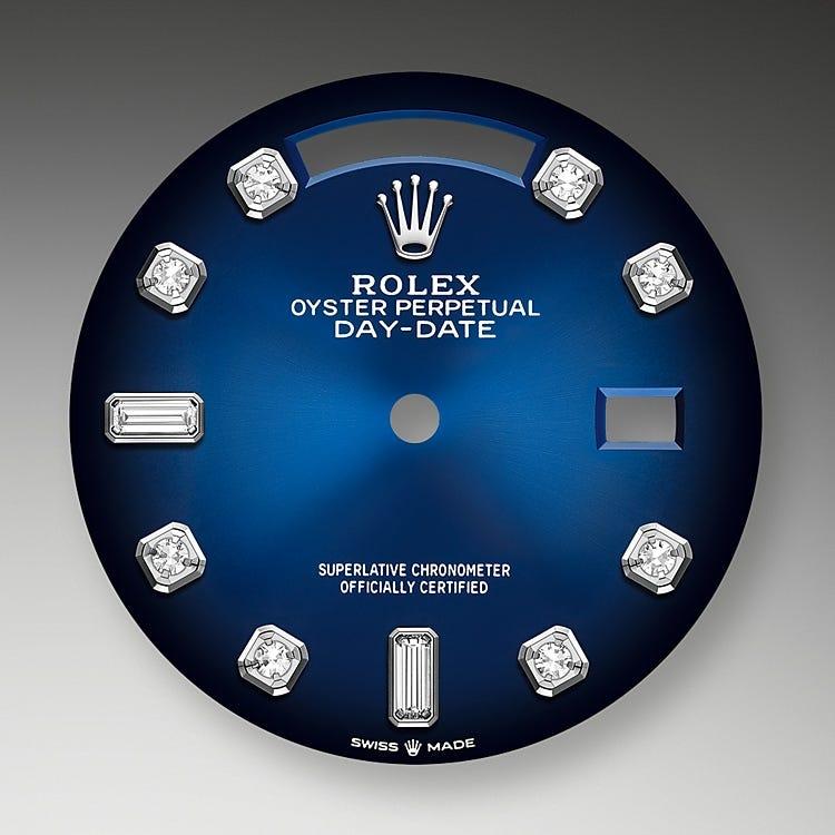 Rolex Day-Date 36 Blue ombré dial
