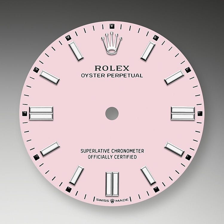 Rolex Oyster Perpetual 36 Candy pink dial