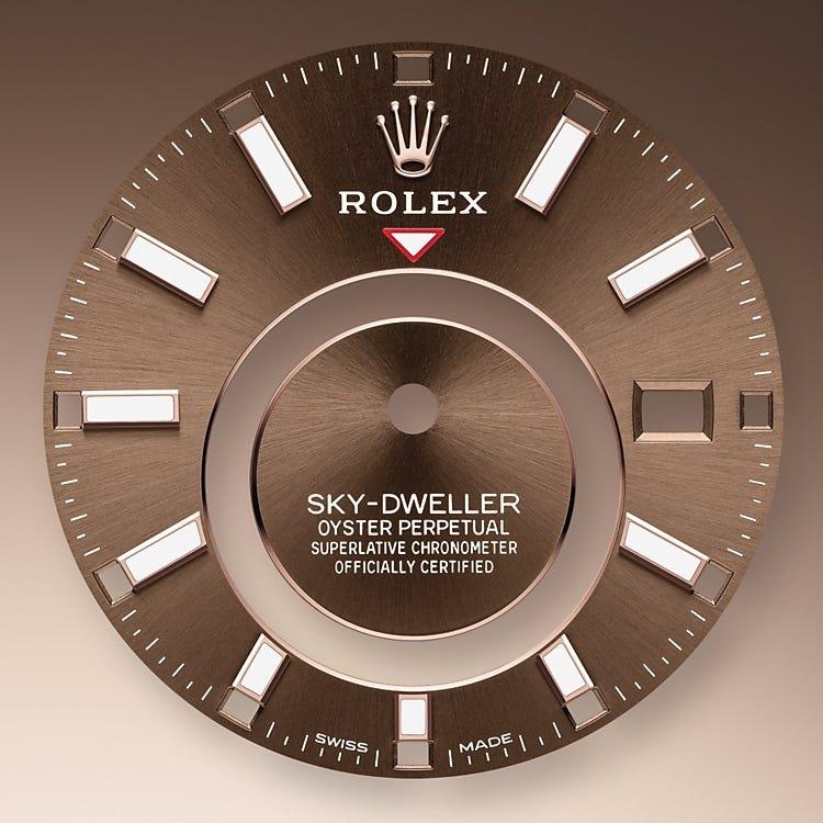 Rolex Sky-Dweller Chocolate Dial