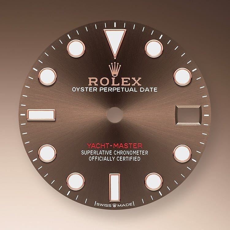 Rolex Yacht-Master 37 Chocolate Dial