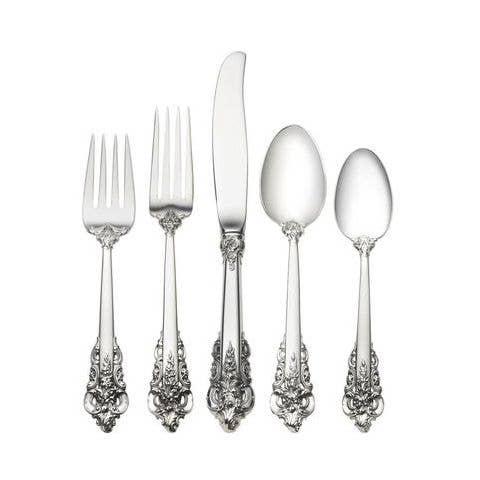 Wallace Grande Baroque Sterling Silver Round Bowl Cream Soup Spoon