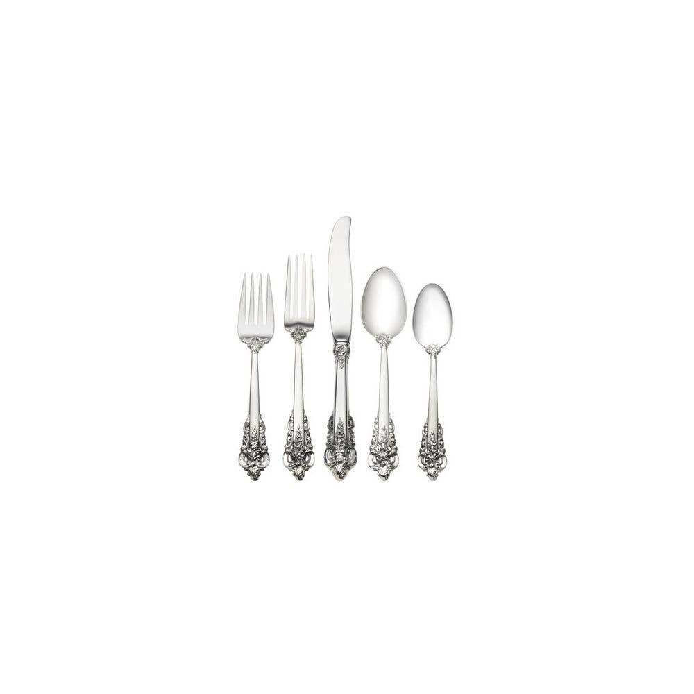 Grande Baroque-Wallace 4-PC Sterling Place Setting s -Modern