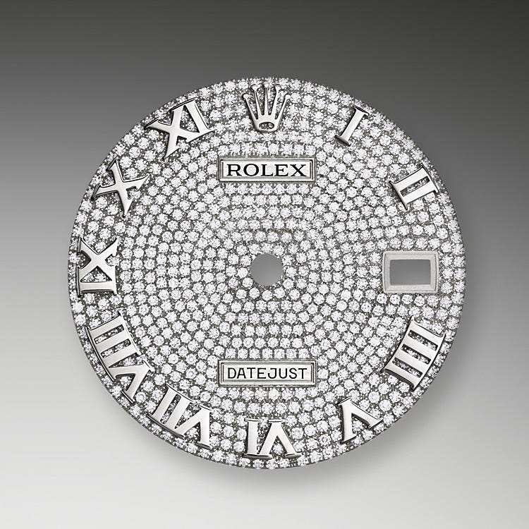 Rolex Pearlmaster 39 Diamond-Paved Dial