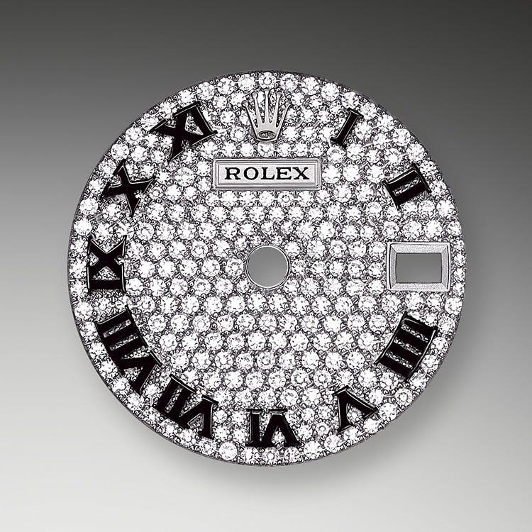 Rolex Lady-Datejust Diamond-Paved Dial