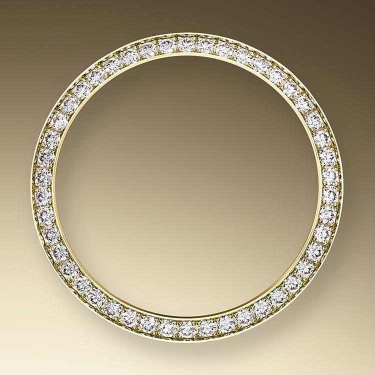 Rolex Lady-Datejust Diamond-Set Bezel