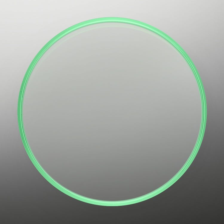 Rolex Milgauss Green sapphire crystal