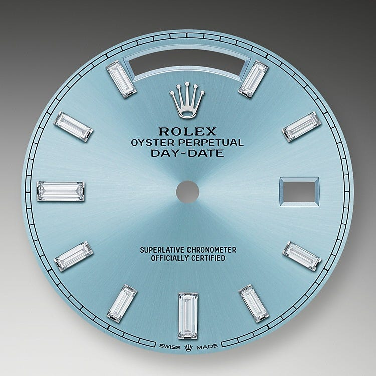 Rolex Day-Date 40 Ice-Blue Dial