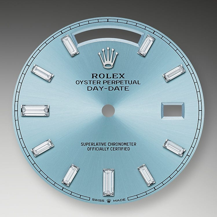 Rolex Day-Date 40 Ice Blue Dial