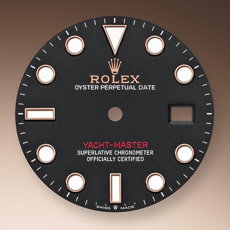 Rolex Yacht-Master 40 Intense black dial
