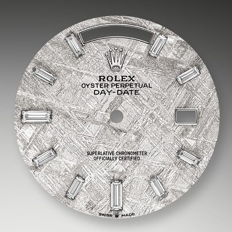 Rolex Day-Date 40 Meteorite dial