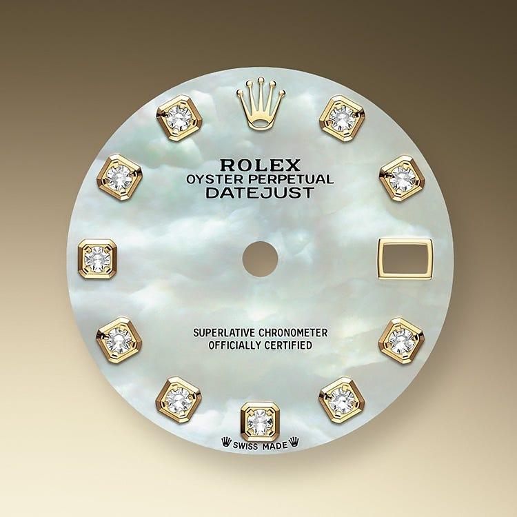 Rolex Lady-Datejust Mother-of-Pearl Dial