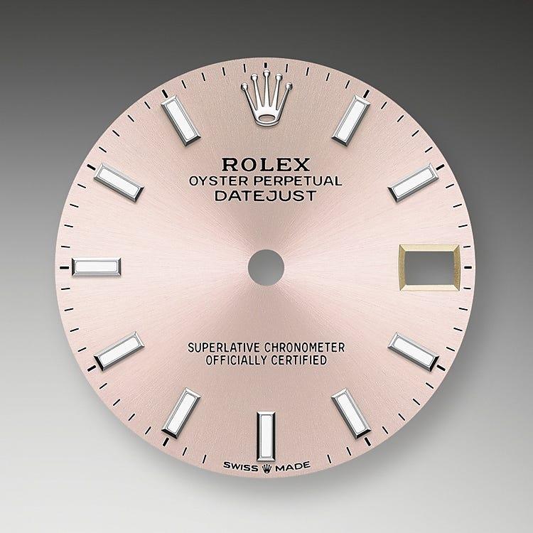 Rolex Datejust 31 Pink Dial