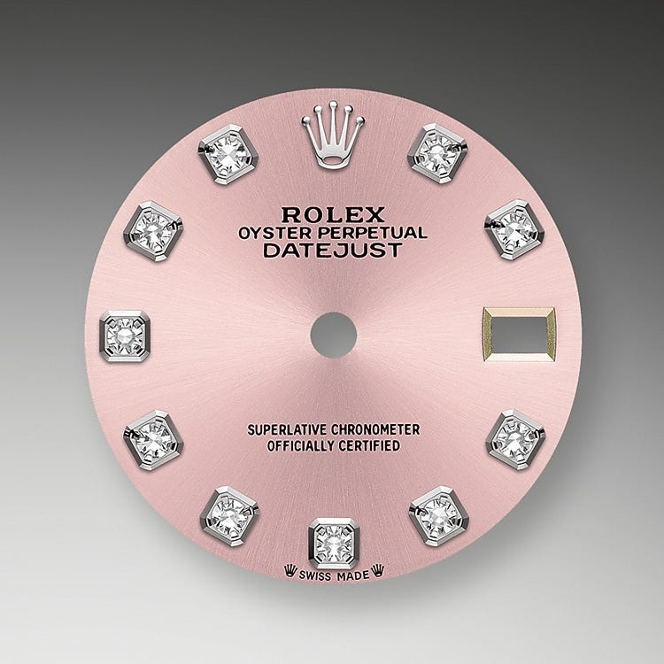 Rolex Lady-Datejust Pink Dial