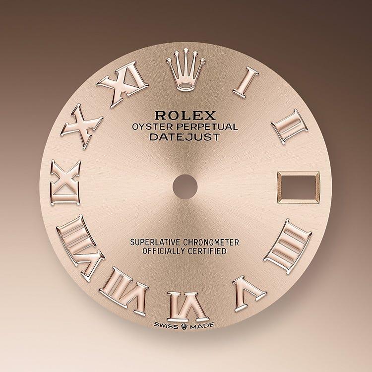 Rolex Datejust 31 Rosé-colour dial