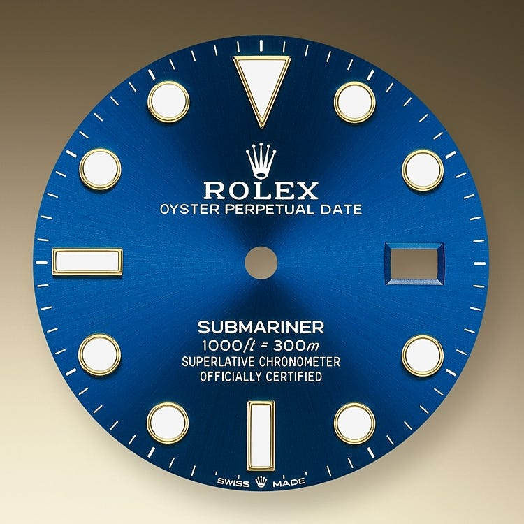 Rolex Submariner Date Royal blue dial