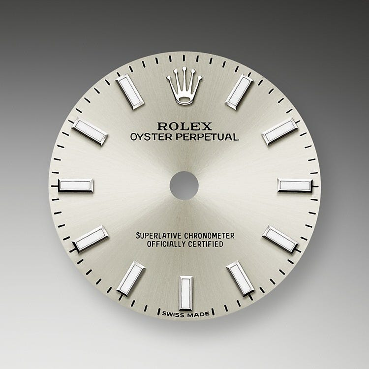 Rolex Oyster Perpetual 26 Silver Dial