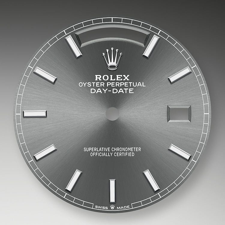 Rolex Day-Date 40 Slate Dial