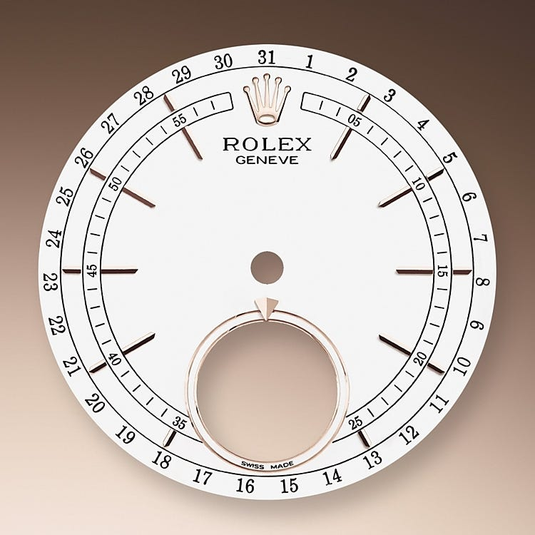 Rolex Cellini Moonphase White dial