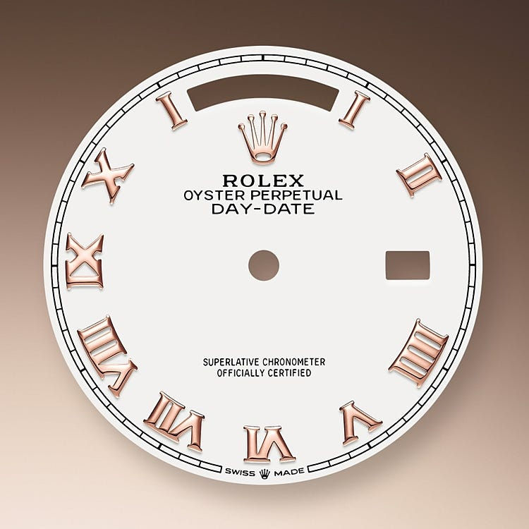 Rolex Day-Date 36 White dial