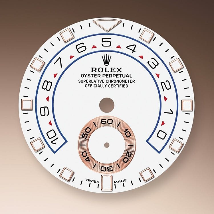 Rolex Yacht-Master II White dial