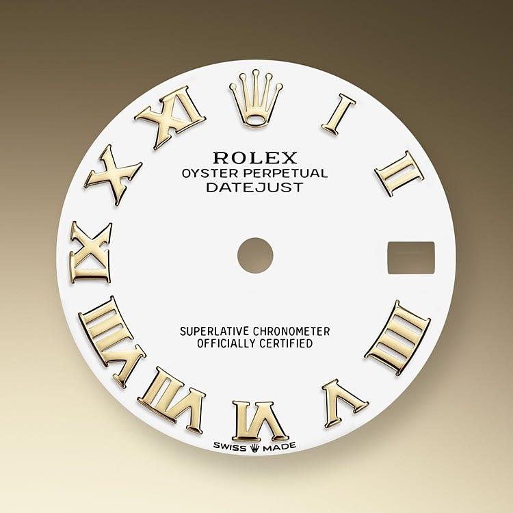 Rolex Datejust 31 White dial