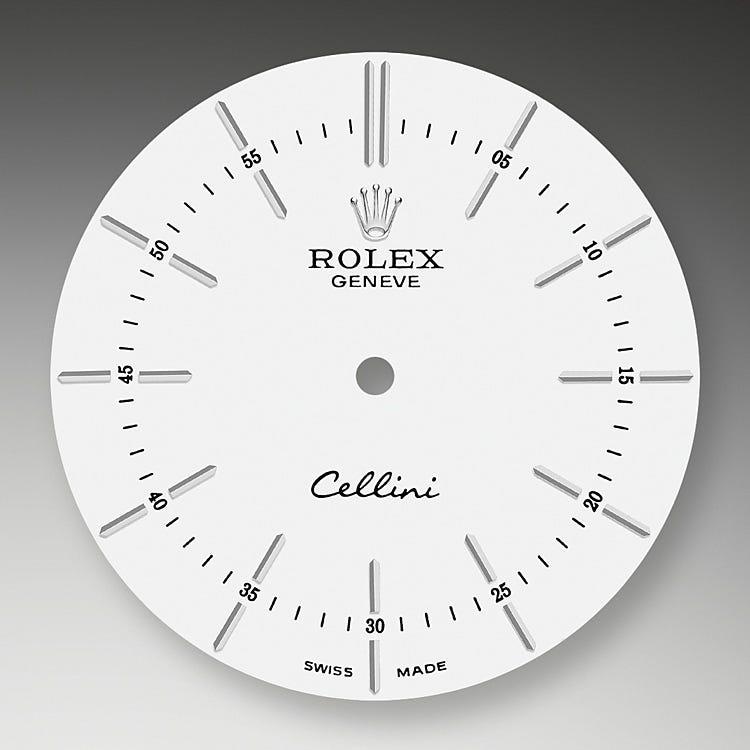 Rolex Cellini Time White dial