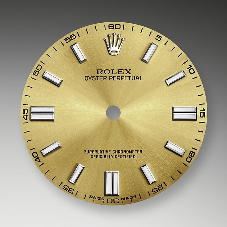 Rolex Oyster Perpetual 36 White Grape Dial