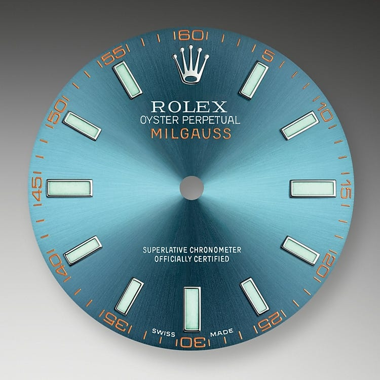 Rolex Milgauss Z-Blue Dial