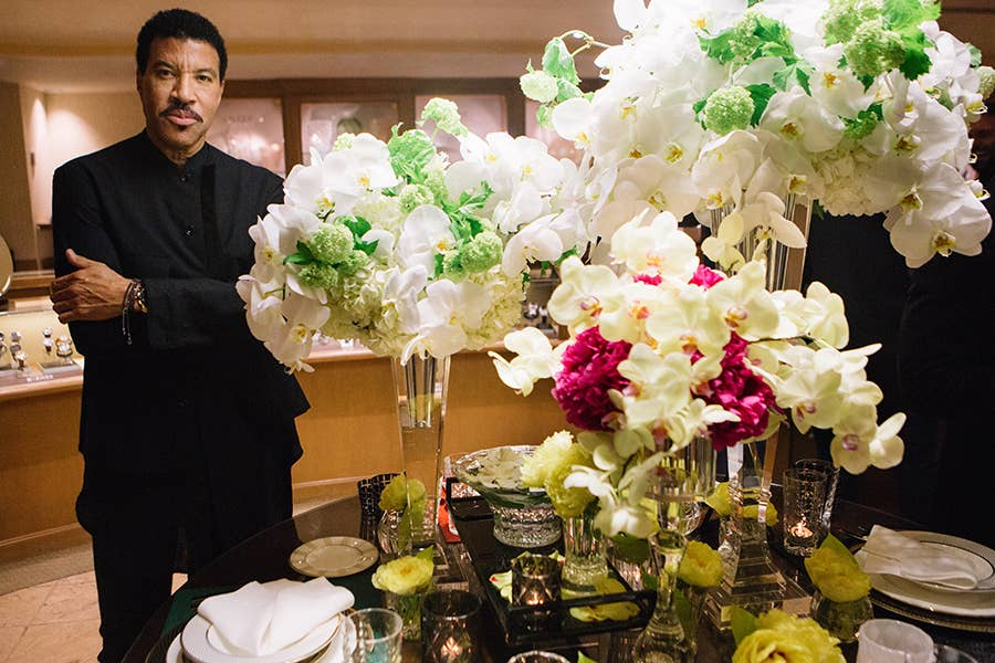 Lionel Richie & his home collection available exclusively in Los Angeles at GEARYS Beverly Hills