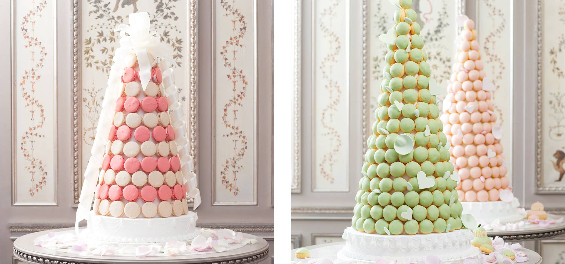 With Ings Flown In From France Ladurée Beverly Hills Also Creates Extraordinary Bespoke Wedding Cakes Yes We Are Famous For Our Macarons Says