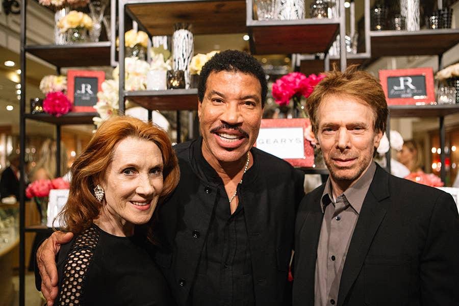 Linda Bruckheimer, Lionel Richie & TV/Film Producer Jerry Bruckheimer