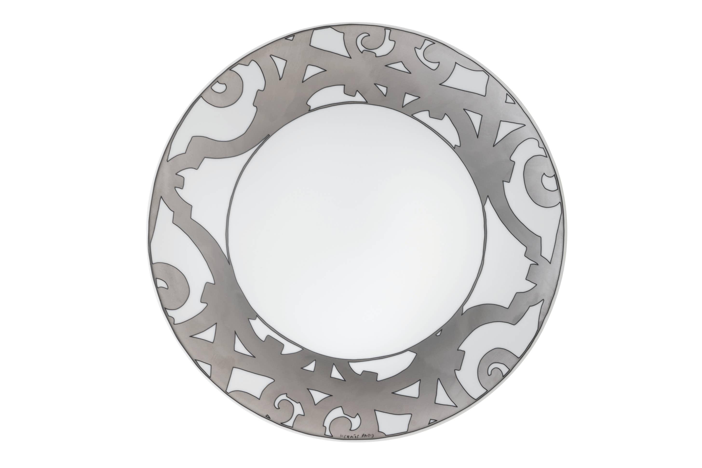 Hermes Balcon Platinum Dinnerware