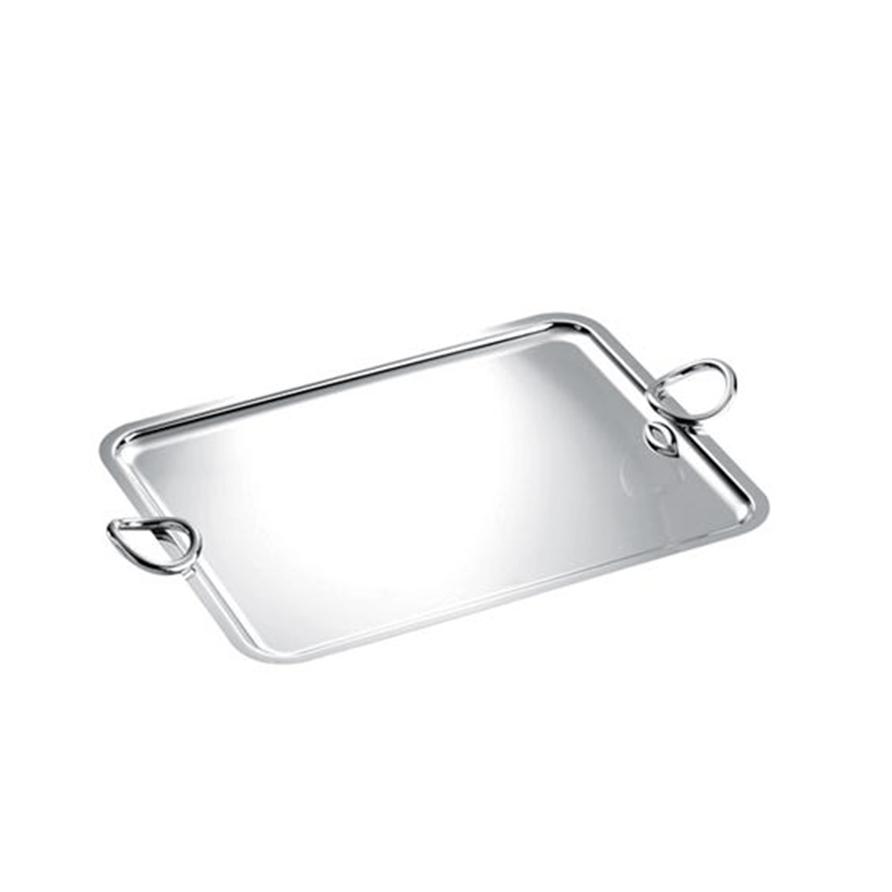 Christofle Vertigo Serving Tray with Handles