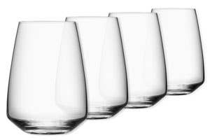ORREFORS Pulse Wine Glasses