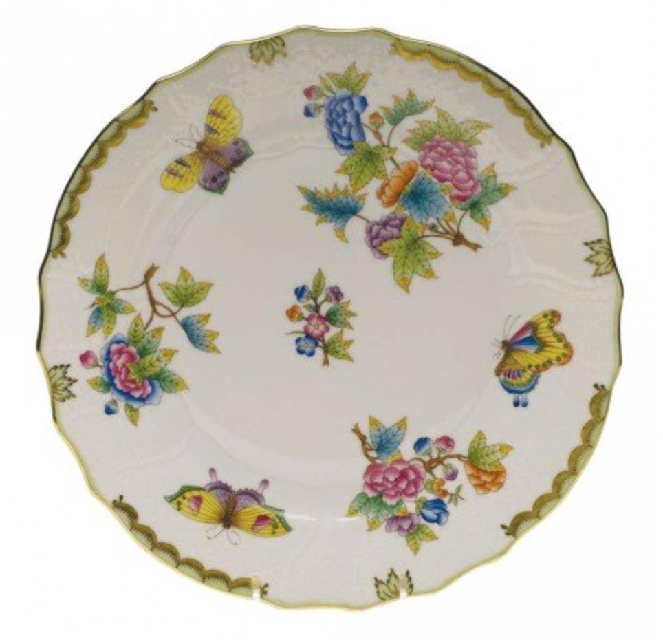 Queen Victoria Dinner Plate