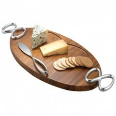 Infinity Cheese Board With Knife