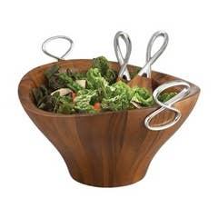 Infinity Salad Bowl With Servers