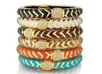 <a href='http://www.gearys.com/mata-hari-bangle-bracelet.html'><u><span style='font-family: quattrocento; font-size:12px'>ANGELIQUE DE PARIS<br />Mata Hari Bangle Bracelets</span></u></a>