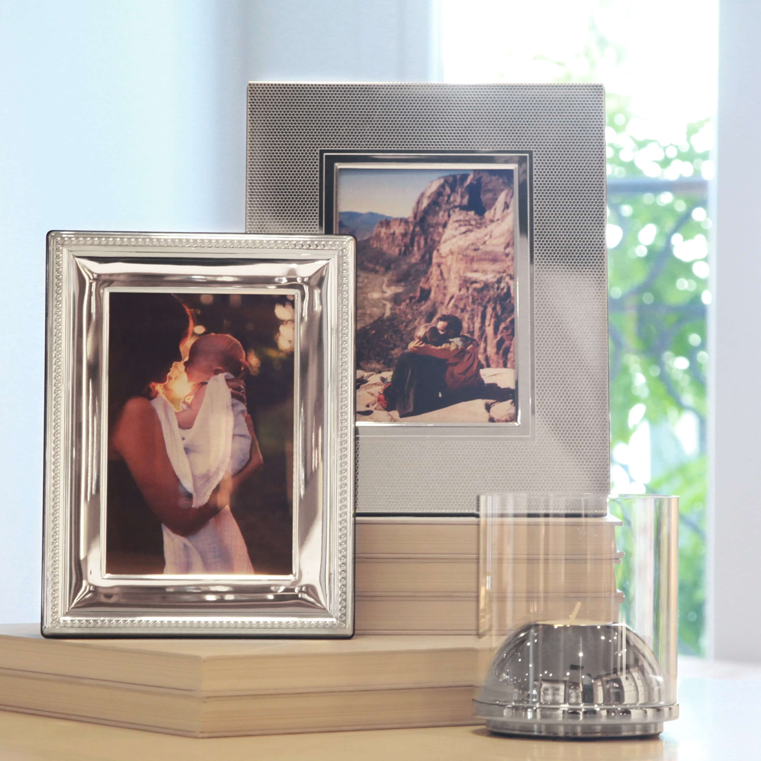 Christofle Silverplated and Sterling Silver Picture Frames