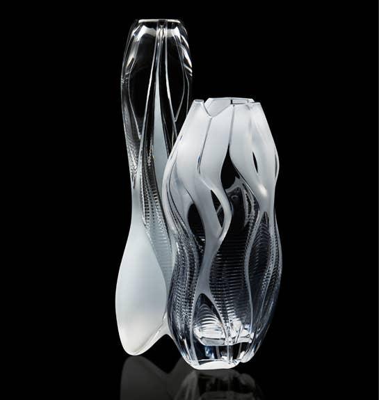 Clear Visio & Manifesto Vases