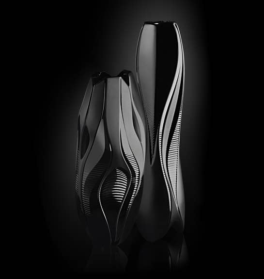 Black Visio & Manifesto Vases