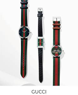 Shop our collection of Gucci Timepieces!