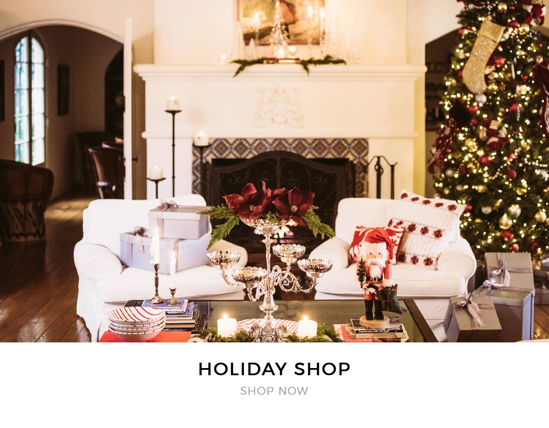 Shop our holiday gift collections for Christmas & Hanukkah, as well as ornaments to decorate your home!